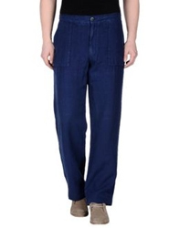 Canali Casual Pants Blue