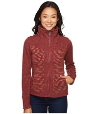 Marmot Gwen Sweater Madder Red Women's Sweater Olive