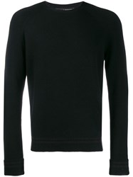 Neil Barrett Knitted Jumper Black