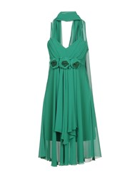 Bagatelle Short Dresses Green