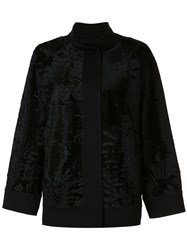 J. Mendel 'Caban' Jacket Black