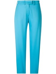 House Of Holland Tailored Trousers Blue