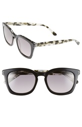 Boss 50Mm Retro Sunglasses Black Havana Crystal