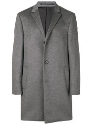 Calvin Klein Mid Length Coat Grey