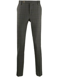 Entre Amis Slim Fit Checked Trousers 60