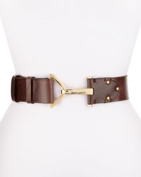 Vince Camuto Front Hook 50Mm Belt Chocolate