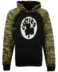47 Brand '47 Men's Boston Celtics Alpha Hoodie Black Camo