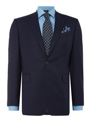 Chester Barrie Albermarle Worsted Twill Suit Navy
