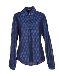 Alexis Mabille Shirts Blue