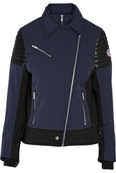 Fusalp Bonneval Leather Trimmed Shell Ski Jacket