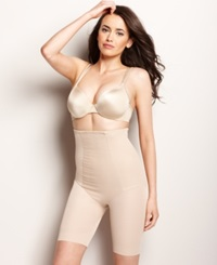 Miraclesuit Extra Firm Control Shape With An Edge High Waist Thigh Slimmer 2709 Nude