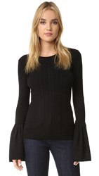 Bcbgmaxazria Bell Sleeve Sweater Black