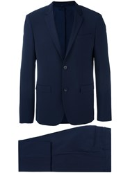Calvin Klein Two Piece Suit Blue