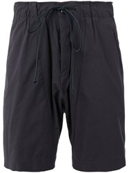 Attachment Drawstring Bermudas Men Cotton Nylon Polyurethane Iii Grey