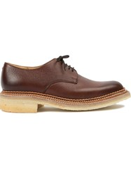 Grenson 'Nick Wooster Nw2' Derby Shoes Brown