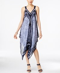 Styleandco. Style And Co. Sleeveless Paisley Print Dress Only At Macy's Foulard Paisley