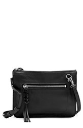 Vince Camuto Aylif Leather Crossbody Bag Black
