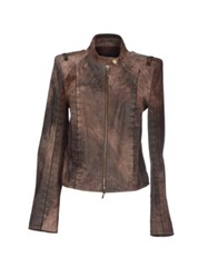 Plein Sud Jeanius Jackets Dark Brown