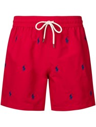 Polo Ralph Lauren Red Swimming Shorts