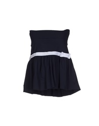 Red Valentino Redvalentino Tube Tops Dark Blue