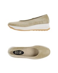 Ruco Line Footwear Courts Women Khaki