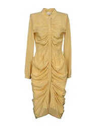 Boy By Band Of Outsiders Knee Length Dresses Ocher