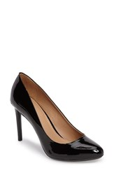 Calvin Klein Women's Salene Water Resistant Pump Black Patent