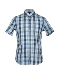 Sun 68 Short Sleeve Shirts Green