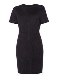 Therapy Suedette Dress Black
