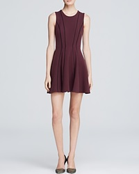 Autograph Addison Addison Dress Hazed Seamed Fit And Flare Shiraz