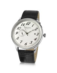 Forzieri Automatic Stainless Steel Dress Watch Silver