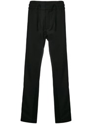 Christian Pellizzari Relaxed Fit Trousers Black