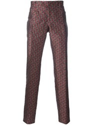 Ermanno Scervino Geometric Pattern Tailored Trousers