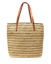 Mar Y Sol Tote Monaco Stripes Dove