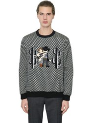 Dolce And Gabbana Cowboy Family Printed Twill Sweatshirt