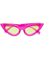 Kuboraum Cat Eye Sunglasses Pink
