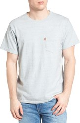 Levi'sr Men's Levi's Orange Tab Pocket T Shirt Recycle Denim