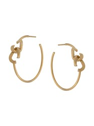 Annelise Michelson Tiny Dechainee Small Hoops Gold