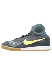 Nike Performance Magistax Proximo Ii Ic Indoor Football Boots Seaweed Volt Hasta Mica Green Light Brown Oliv