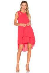 Bcbgmaxazria Kristi Dress Red