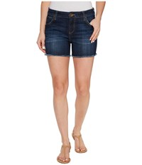 Kut From The Kloth Gidget Frey Shorts In Stimulating Stimulating Women's Shorts Blue