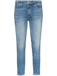 Paige Hoxton Mid Rise Skinny Jeans 60