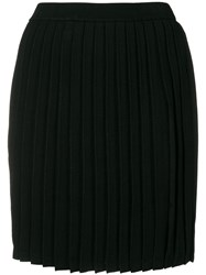 Emporio Armani Fitted Please Skirt Black