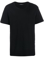 Zadig And Voltaire Round Neck T Shirt Black