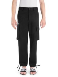 Versace Cotton Cargo Pants Black