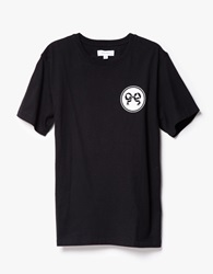 Soulland Ribbon T Shirt In Black