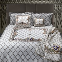 Roberto Cavalli New Spider Bed Set White