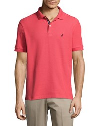 Nautica Cotton Performance Polo Shirt