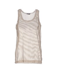 New York Industrie Tank Tops Sand