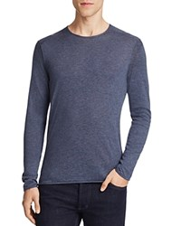Boss Orange Kwamero Cotton Roll Edge Sweater Blue Nights